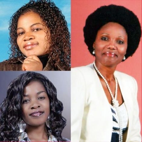 Gospel Artistes Angela Chibalonza (RIP), Gloria Muliro, Sarah K Top MCSK payout.